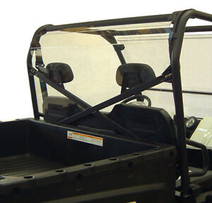 POLARIS RANGER REAR WINDOW CAB ENCLOSURE 800 XP FULL SIZE HD 6X6