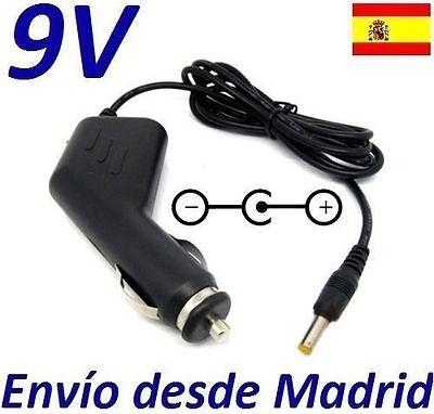Cargador Coche Mechero 9V Reemplazo Reproductor DVD AIRIS DP282 7