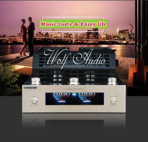 Bluetooth 4.0 HiFi Vacuum Tube Amplifier Stereo Class AB High-power Audio Amp