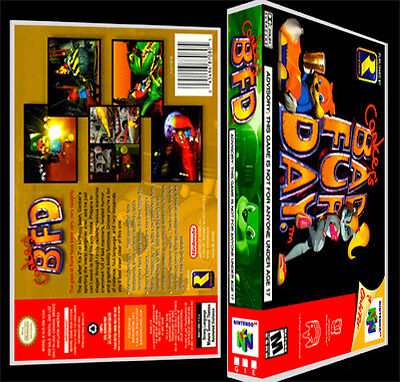 Conkers Bad Fur Day - N64 Reproduction Art Case/Box No Game.