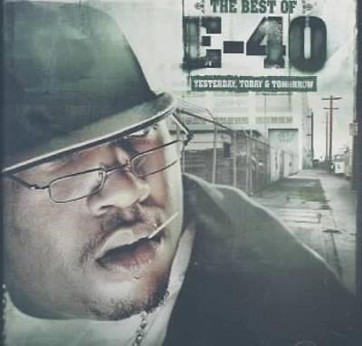 E-40 (RAP) - BEST OF E-40: YESTERDAY, TODAY & TOMORROW [EDITED] NEW (Best Rap Music Today)