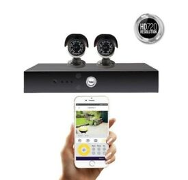 Yale Smart HD CCTV System provides the ultimate peace of mind Brand New