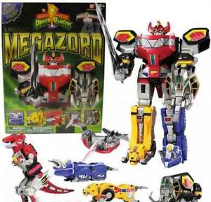 Looking for: Power Rangers Legacy Megazord
