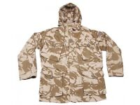 Army desert jackets brand new various sizes