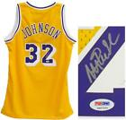 Magic Johnson Autographed Lakers Jersey