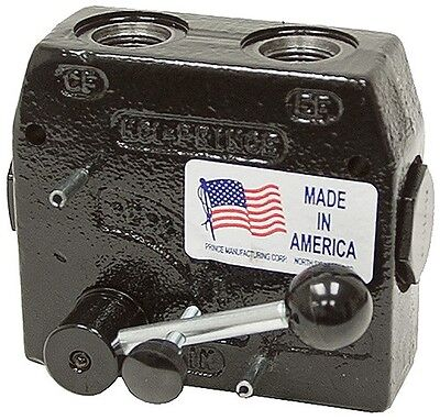 Prince Hydraulic Compensated Flow Control Rd-150-8 12 Port 0-8 Gpm Adjustable