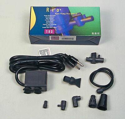 Rio 180 *UL* 3 Prong Fountain Pump Powerhead 120 GPH