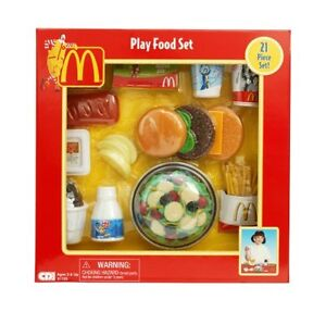 NEW McDonalds Play Food - Salad Set