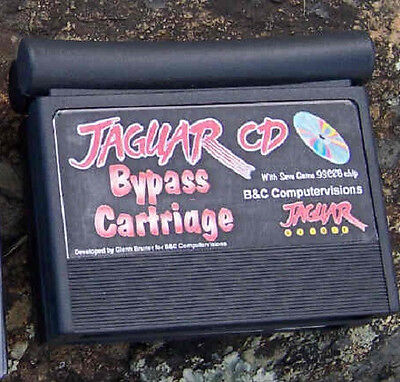 Developer Bypass CD Encryption Cartridge Atari Jaguar New with 93C86 and CoF