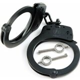 Smith & Wesson 350101 Model 100 Police Double Locking Chain S&W Handcuffs - Blue
