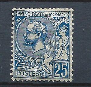 Monaco N° 25*(MH) 1901 - France - Monaco N 26(MH) 1914 - France