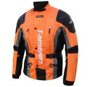 Orange Motorcycle Jacket