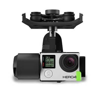 3DR Solo Gimbal for GoPro HERO3+ and Hero4, 3-Axis Stability BRAND NEW