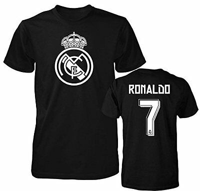 Real Madrid Shirt Cristiano Ronaldo  7 Soccer Jersey Shirt Cr7 T Shirt