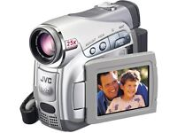 Fully Working GR D240EK JVC Digital Video Recording Camera, Camcorder,Case, Charger and three tapes