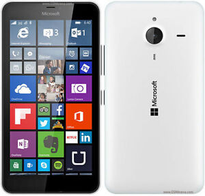"Microsoft Lumia 640 XL LTE White 5.7"" Unlocked +Wind NEW COND"