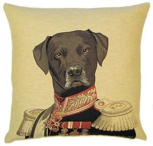 THE-ADMIRAL-ARISTODOGS-18-TAPESTRY-CUSHION-COVER-BEAUTIFUL-FINISHED-TAPESTRIES