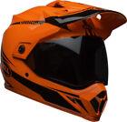 Orange Motocross DOT Helmets
