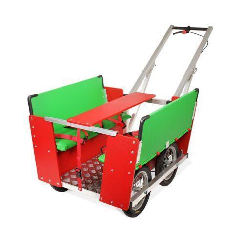 krippenwagen 6 sitzer kinderwagen tragen ebay. Black Bedroom Furniture Sets. Home Design Ideas