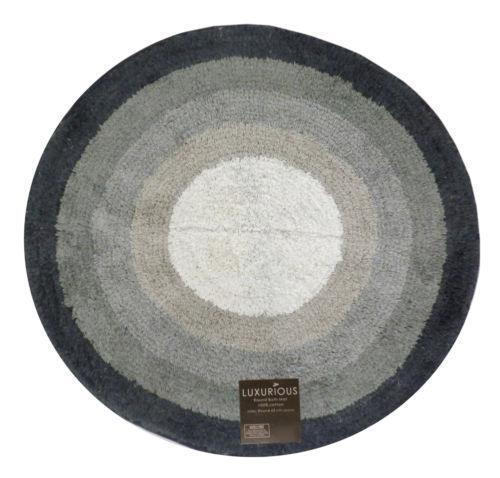 Black Grey Bath Mat Ebay