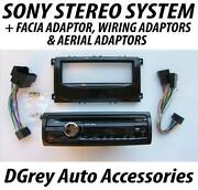 Ford Focus Sony Stereo