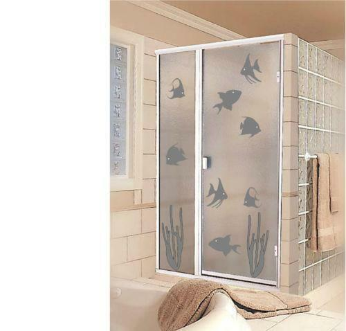 Shower Door Stickers Home Furniture Amp Diy Ebay