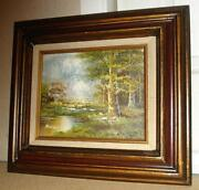 Original Oil Painting Framed
