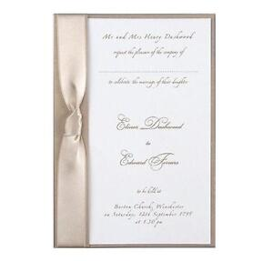 Handmade Wedding Invitations Ebay