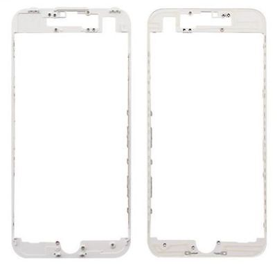 "Apple iPhone 7 Plus 5.5"" Front Middle Frame Bezel LCD Holder With Hot Glue White"