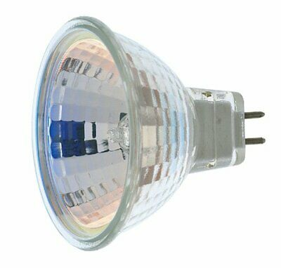 Satco S3462 1/Card 12V 50W MR16 GX5.3 Base Light Bulb NSP 9 Beam Pattern No Lens