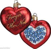 Old World Christmas Ornaments Heart