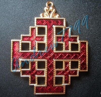 Badge of the Equestrian Order of the Holy Sepulchre of Jerusalem - Vatican (Equestrian Order Of The Holy Sepulchre Of Jerusalem)
