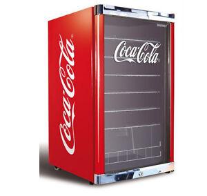 husky coca cola 130 l highcube k hlschrank eek a g nstig kaufen ebay. Black Bedroom Furniture Sets. Home Design Ideas