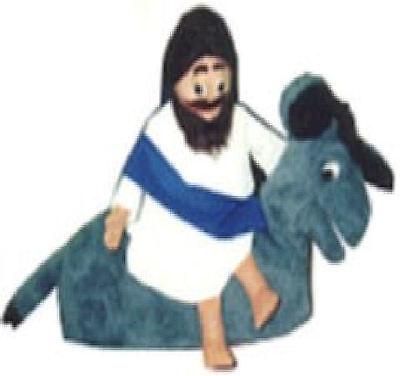 Jesus on Donkey Puppet Set of 2 -Teachers, ministry, VBS Programs (Vbs Programs)