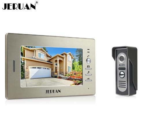 Brand JERUAN-sperakerphone intercom 7 inch video screen+camera=Perfect for home!