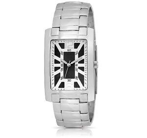 FMD-Steve-Collection-Black-Dial-Japan-Quartz-Metal-Bracelet-Mens-Watch