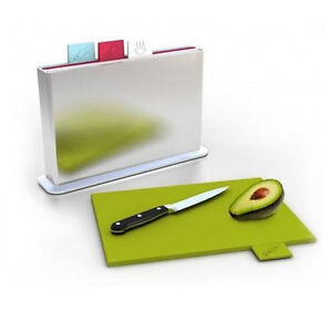 4-Polypropylene-Color-Coded-Index-Chopping-Boards-with-Water-Pan-FDA-Certified