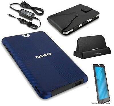 Toshiba Thrive Bundle W/dock,ac Adapter,carrying Case,cas...
