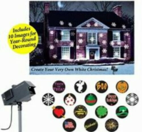 2 Different Mr Christmas Motion Projectors For One Price