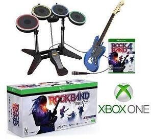 NEW ROCK BAND RIVALS BAND KIT - 113682574 - MICROSOFT XBOX ONE GAME CONSOLE