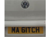 Private Number Plate - My Bitch
