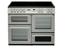 Leisure Cuisine Master 100 Range Cooker Stainless Steel***FREE DELIVERY & 3 MONTHS WARRANTY***
