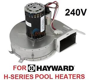 NEW HAYWARD POOL HEATER BLOWER Combustion Blower for H-Series Low NOx Heater  Pools Hot Tubs  Supplies 105949656