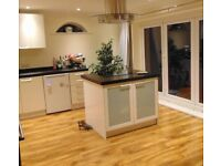 Laminate and carpet fitters with over 35 years experience and 100% review rating competitive prices