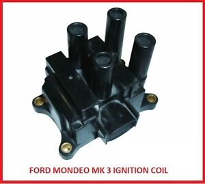 FORD MONDEO MK3 COIL PACK 1800cc 2000cc16v IGNITION 2001-2006 1.8 2.0LTR DURATEC