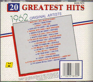 20 Greatest Hits 1962 - Original Artists West Island Greater Montréal image 2