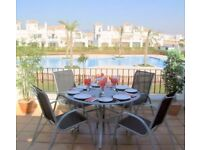 A 2 BEDROOM 2 BATHROOM SELF CATERING RENTAL ANY TIME BETWEEN 31ST AUG - 9TH SEP SUNNY MURCIA SPAIN