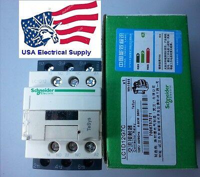 Lc1d12g7c Schneider Contactor Coil 120vac  5060hz