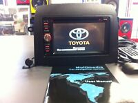 GPS/DVD RADIOS from $349      FITS ANY CAR     call 416-744-8230