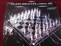 CHESS Game  -- Shooter Glasses -- (BRAND NEW!)